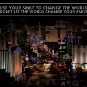 Canvas tekst smile