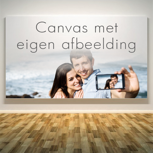 Canvas bestellen op Tuindoekdeal.nl, met je eigen afbeelding.
