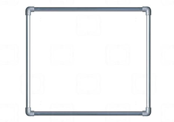 Tuindoek met frame bestellen