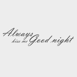 Canvas tekst Goodnight