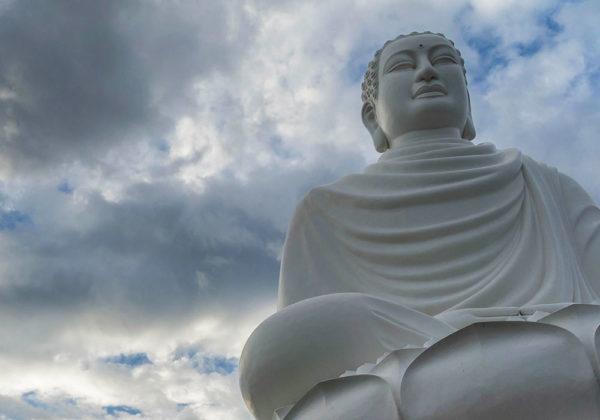 Doek met afbeelding boeddha online kopen